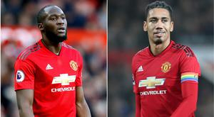 Italian newspaper Corriere dello Sport has been accused of fuelling racism for its front page featuring Romelu Lukaku and Chris Smalling (Martin Rickett/PA)