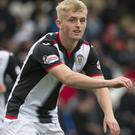 Cammy Macpherson grabbed St Mirren's matchwinner at Hamilton (Jeff Holmes/PA Images).