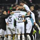 Borussia Monchengladbach recorded a huge home win (Martin Meissner/AP)