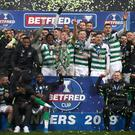 Celtic beat Rangers 1-0 (Jane Barlow/PA)