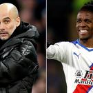 Pep Guardiola and Wilfried Zaha are making the headlines (Martin Rickett/PA)