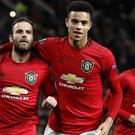 Manchester United secured top spot with a win over AZ Alkmaar (Martin Rickett/PA)