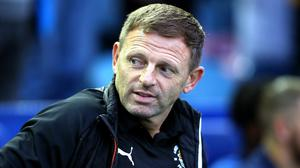 Graeme Jones has left his role as Luton manager (Nigel French/PA)