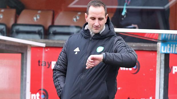 Celtic interim manager John Kennedy concedes Rangers are worthy champions (Jeff Holmes/PA)