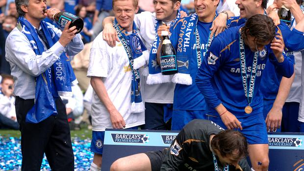 Chelsea retained the title the following season (Sean Dempsey/PA)