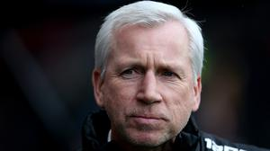Alan Pardew expects his next job to be in England (Mark Kerton/PA)