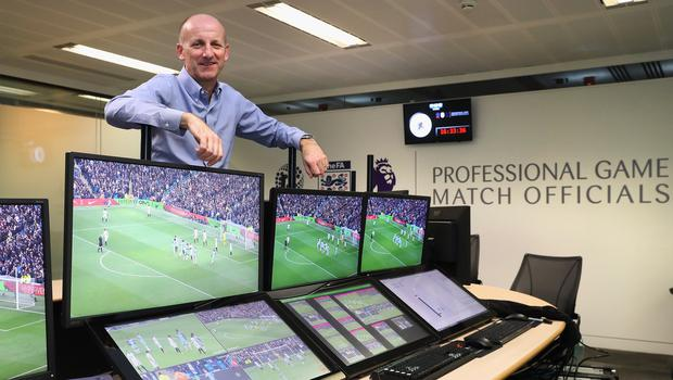 Referees' chief Mike Riley is excited to be involved in the implementation of VAR (Christopher Lee/PA)