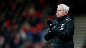 Alan Pardew says he would not take a bonus after ADO Den Haag avoided relegation in Holland (Mark Kerton/PA)