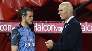 Gareth Bale has been restricted to a watching brief at Real Madrid (Jose Breton/AP)