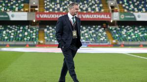 Michael O'Neill has left his post as Northern Ireland manager (Brian Lawless/PA)