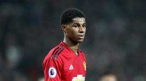 Marcus Rashford wants trophies to follow after signing a new contract at Manchester United (Martin Rickett/PA)