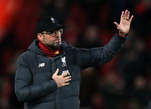 Liverpool manager Jurgen Klopp says a title parade could be organised for midway through next season if necessary (Peter Byrne/PA)