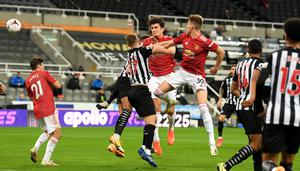 Harry Maguire scored in Saturday's 4-1 win at Newcastle (Stu Forster/PA)