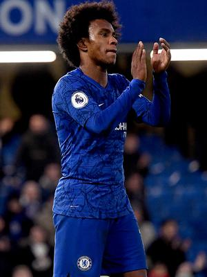 Chelsea's Willian wants to stay with the club (Victoria Jones/PA)