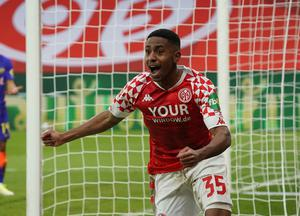 Leandro Barreiro Martins was the match-winner for Mainz (Hasan Bratic/AP)