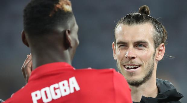 Zinedine Zidane is keeping his counsel over speculation about Paul Pogba and Gareth Bale (Nick Potts/PA)