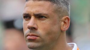 Jonathan Walters flew with the Republic of Ireland squad to Tbilisi