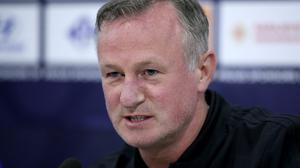 """Michael O'Neill says """"there is no magic formula"""" as his team seek a cutting edge (Tim Goode/PA)"""