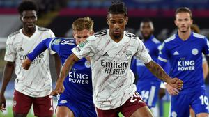 Reiss Nelson has played just 81 minutes of football for Arsenal so far this season (Rui Vieira/PA)