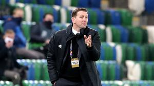 Northern Ireland manager Ian Baraclough's men are set to start their 2022 World Cup qualifying campaign (Niall Carson/PA)