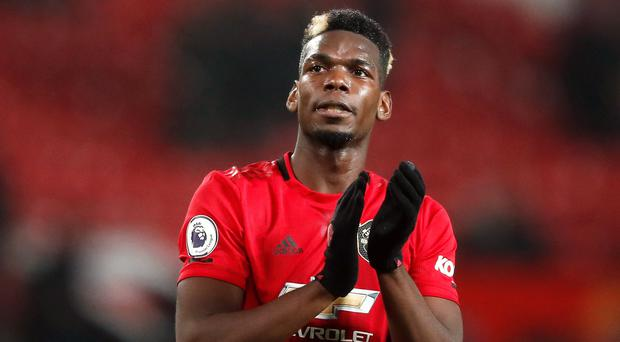 Paul Pogba is sidelined again for Manchester United (Martin Rickett/PA)