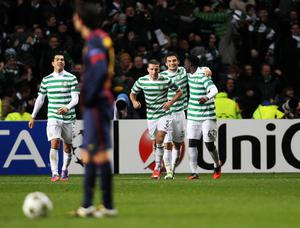 Celtic have previously had success in Europe under Lennon (Lynne Cameron/PA)