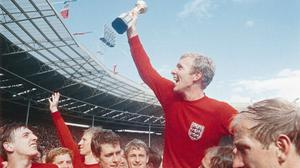 Bobby Moore lifted the Jules Rimet Trophy at Wembley (PA Media)