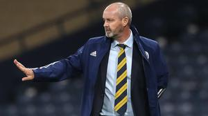 Scotland manager Steve Clarke was happy to take the three points against a makeshift Czech Republic outfit (Andrew Milligan/PA)