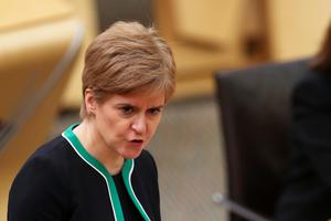 Leaders of the devolved administrations, including Scotland's First Minister Nicola Sturgeon, will make their own decisions on how to support the sports sectors in those countries (Russell Cheyne/PA)