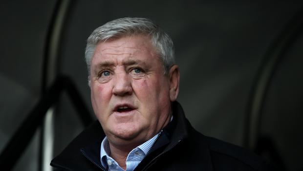 Newcastle head coach Steve Bruce has dismissed claims his team has been lucky this season (Nick Potts/PA)