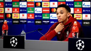 Three years after watching a brilliant Liverpool comeback Trent Alexander-Arnold hopes to be part of one against Barcelona (Peter Byrne/PA)