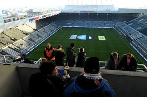 Edging closer: Newcastle are set to be sold in a £350m Saudi Arabia takeover