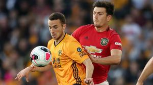 Manchester United and Wolves are in line to face each other in the Europa League semi-finals (Nick Potts/PA)