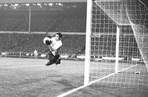 Peter Shilton made his England debut against East Germany in 1970 (PA)