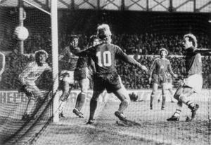 Andy Gray headed Everton to European success (Liverpool Daily Post and Echo/PA Archive)