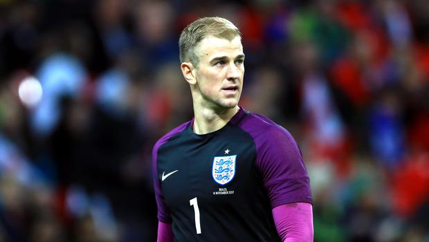 Joe Hart missed out on England's World Cup squad
