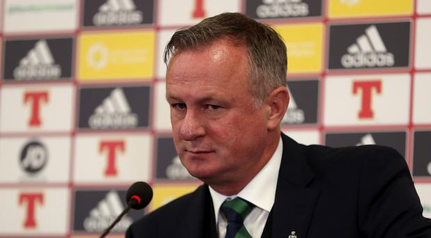 Northern Ireland boss Michael O'Neill has named his squad (Liam McBurney/PA)