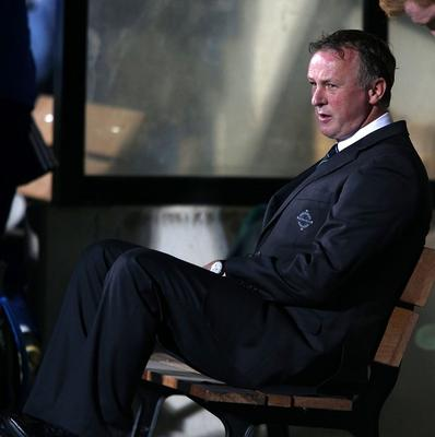 Michael O'Neill said he and the players owe the fans an apology