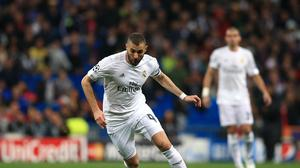 Karim Benzema hauled Real Madrid level on the night early in the second half