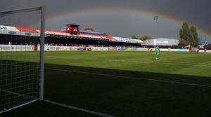 Dagenham expect to face financial problems if the National League is forced to stop due to coronavirus (PA)
