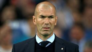 Zinedine Zidane thought Real Madrid competed on an even footing against Valencia (Nick Potts/PA)