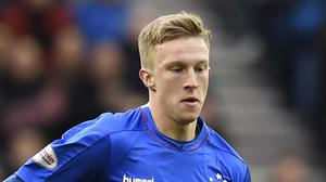 Ross McCrorie has tested positive for coronavirus (Ian Rutherford/PA)