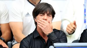 Problems are mounting for Germany manager Joachim Low (Mike Egerton/PA).