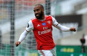 Alexandre Lacazette scored in the win at Wolves (Mike Egerton/NMC Pool)
