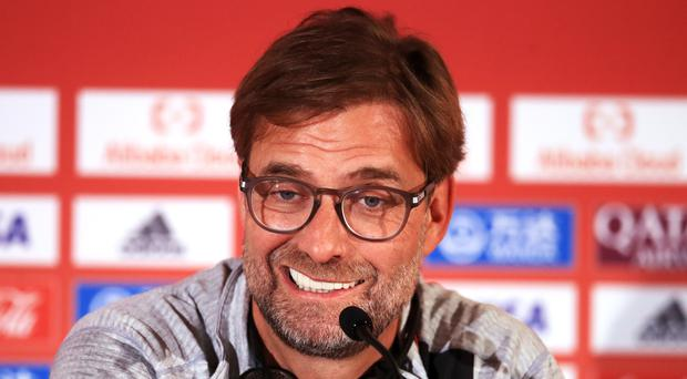Liverpool manager Jurgen Klopp compared winning the Club World Cup for the first time to landing on the moon (Adam Davy/PA)