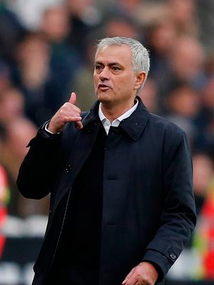 Back again: Jose Mourinho enjoyed a win on his return to management