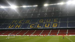 Barcelona have announced a series of measures to try and combat the effect (Peter Byrne/PA)