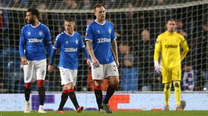Rangers were unable to keep Bayer Leverkusen at bay (Andrew Milligan/PA)