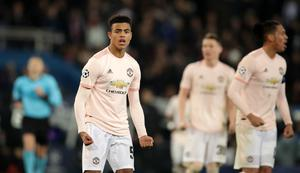 Mason Greenwood made his Manchester United debut in the famous March 2019 win at PSG (John Walton/PA)