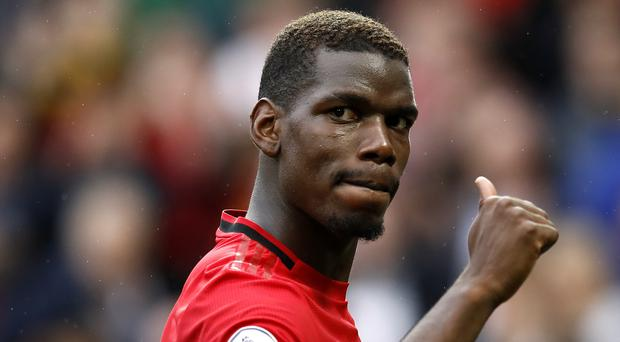 Paul Pogba is poised to return for Manchester United this week (Martin Rickett/PA)